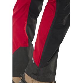 Lundhags Antjah - Pantalon long Femme - rouge/noir